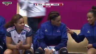 France Monténégro Handball Match pour la 7e 8e place  Championnat du monde féminin 2015