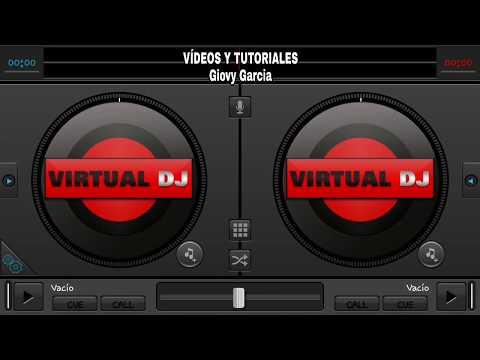 VIRTUAL DJ. 8  PARA ANDROID 😎😎😎