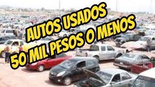 autos usados 50 mil pesos  volkswagen, chevrolet, honda,nissan, seminuevos