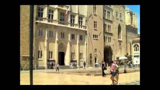 TOURISME : Narbonne (France) Parte 1/2 - Centre ville et Canal de La Robine