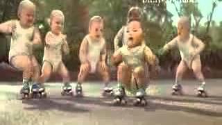 Evian Baby Dance   Black Eyed Peas Pump It
