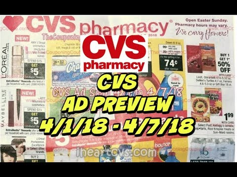 CVS EARLY AD PREVIEW FOR 4/1 - 4/7 | Lets talk deals & coupon tips!