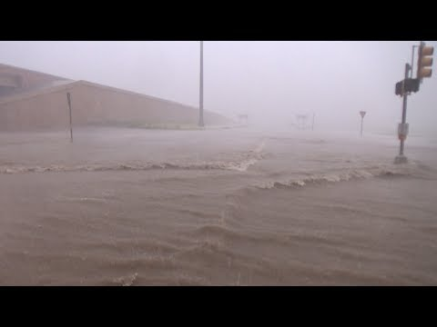 Laredo, TX Extreme Winds Flooding Damage - 5/21/2017