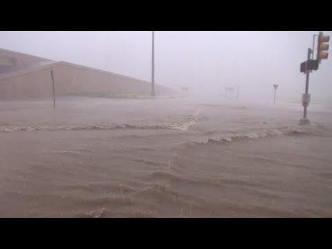 Laredo, TX Extreme Winds Flooding Damage - 5/21/2017