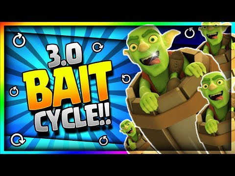 ULTIMATE 3.0 SUPER FAST CYCLE GOBLIN BARREL DECK!! New Best Spell Bait Deck - Clash Royale