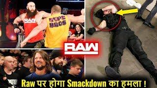 Smackdown ATTACKS & INVADES Raw ! WWE Monday Night Raw 5 November 2018 Highlights WWE Raw 11/5/18