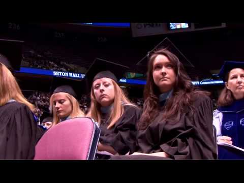 Seton Hall celebrates commencement and honors coac...