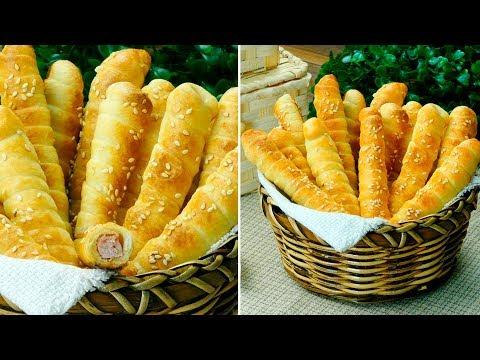 bâtonnets-feuilletés-au-jambon---un-apéritif-excellent-et-délicieux-pour-tous-!- -savoureux.tv