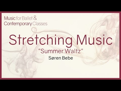 Summer Waltz. Beautiful piano song for stretching