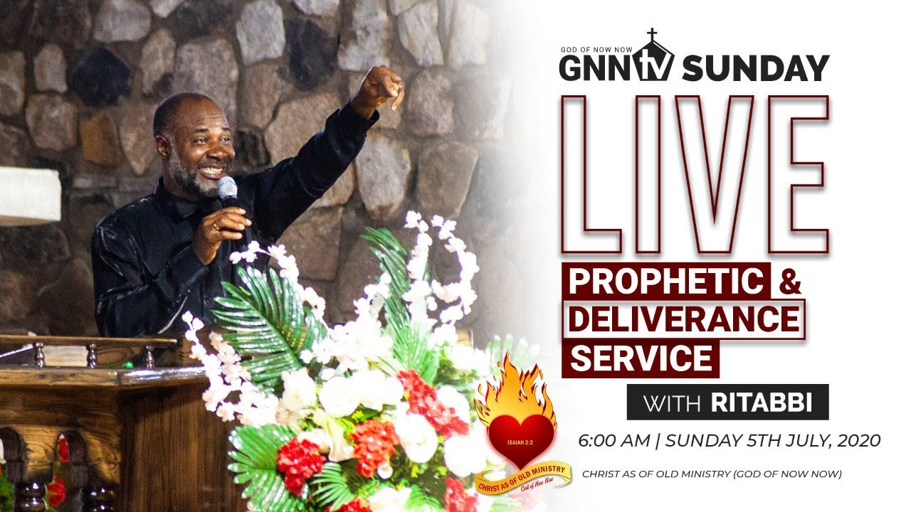 LIVE PROPHETIC AND DELIVERANCE SERVICE WITH RITABBI 5TH JULY 2020