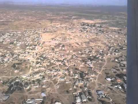 Arriving in Dodoma Airport {FlightLink C208B)