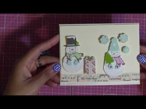 Make A Card - Martha Stewart Christmas Sticker Series #1