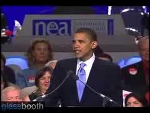Barack Obama on No Child Left Behind