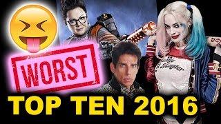 Top Ten Worst Movies of 2016