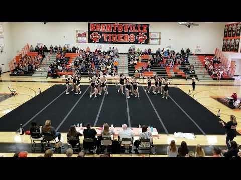 Brentsville District High School at Spirit Explosion Cheer Competition 2018