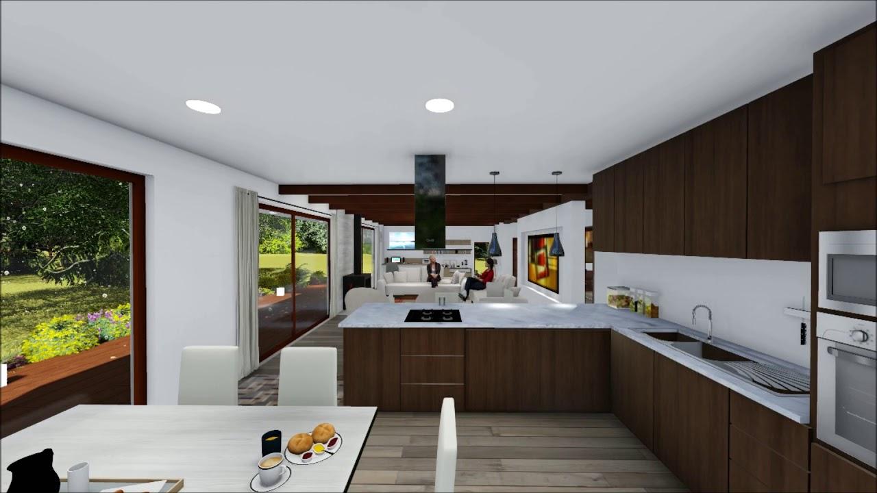 Casa estilo mediterr neo chile youtube - Casas prefabricadas mediterraneas ...