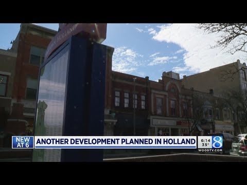 Realty company's new building part of downtown Holland boom