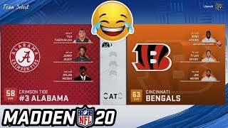 Could a College Team Beat the Bengals?
