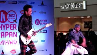 Tomoyasu Hotei and KAMUI (Kill Bill) live at Hyper Japan 2012 Christmas (23/11/12)