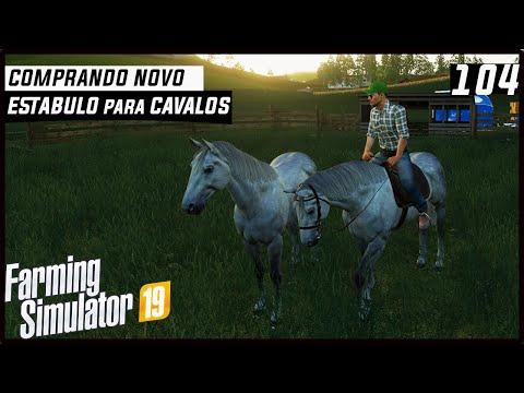 COMPRANDO NOVO ESTABULO PARA OS CAVALOS! | FARMING SIMULATOR 19 #104 [PT-BR] thumbnail