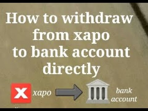 Part1  How To Convert BTC Into INR In Xapo   How To Withdraw INR From Xapo To Bank Account Directly