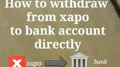 Part1||How to convert BTC into INR in xapo ||How to withdraw INR from xapo to bank account directly