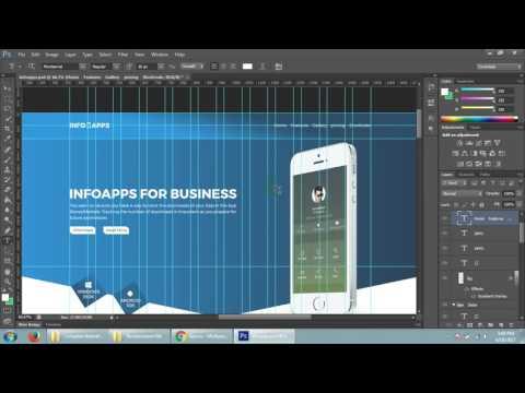 Photoshop premium mobile apps template design for themeforest - 78-8 Batch - 6th class part 2
