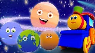 Tren Bob - Gezegenler -  Çocuk ve Bebek Şarkıları  Kids TV Türkçe