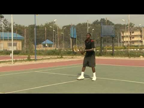 Streetboys from Nigeria playing incredible tennis - Anthony Michael