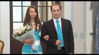 Фрагмент свадебного фильма - В ЗАГСе