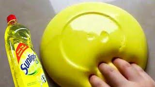 No Glue Dish Soap Shampoo 5 Minutes Slimes