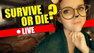 🔴 LIVE - SURVIVE or DIE w/ ThePetitePotato - Can Girls Survive a Zombie Apocalypse?