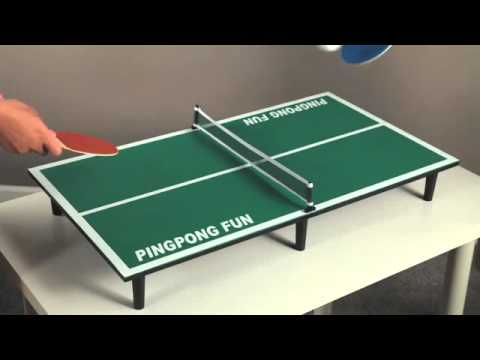 ping pong table top Tabletop Ping Pong Table   55922   YouTube ping pong table top
