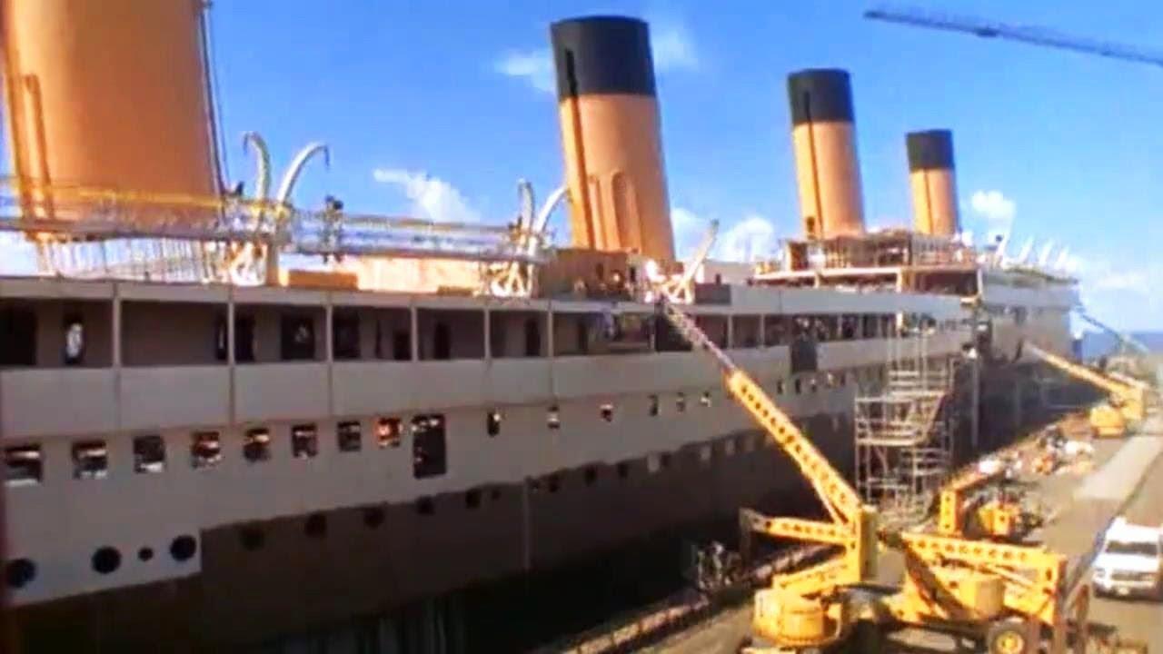 Titanic Movie Set Construction Time Lapse Hd Youtube