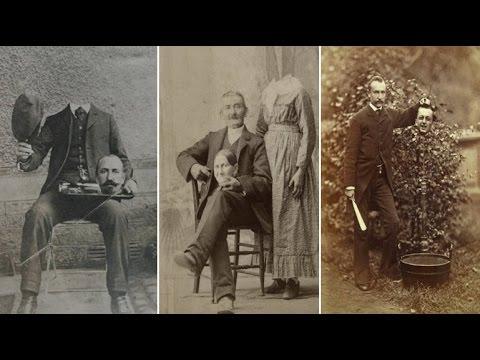 Victorian Era photographers combined multiple negatives to create 19th Century 'photoshopping'