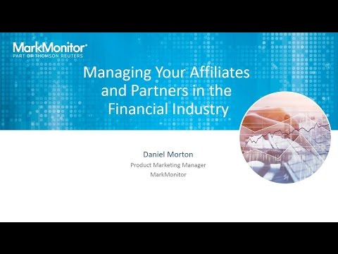 Managing Your Affiliates and Partners in the Financial Industry