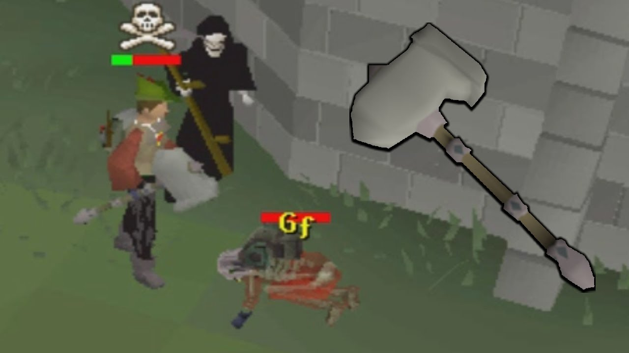 Pking With The New Granite Hammer Low Level