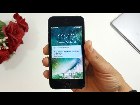 iPhone 5 iOS 10.1 Review