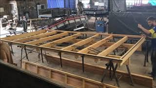 Montagem de carroceria de madeira, Hyundai HR - Passo a Passo - Carroceria JT - Monte Alto-SP