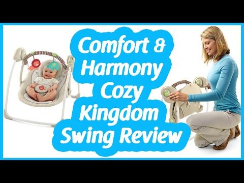 Comfort and Harmony Swing Reviews   Cozy kingdom portable swing
