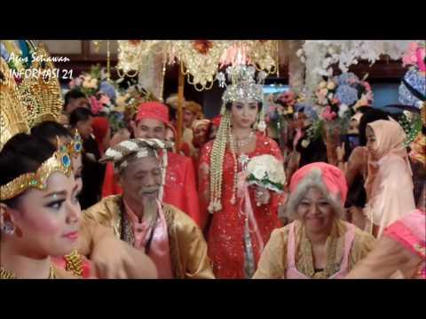 Mewahnya Resepsi Pernikahan ADAT SUNDA, INDONESIA
