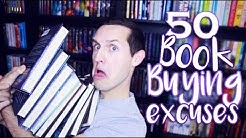 50 BOOK BUYING EXCUSES