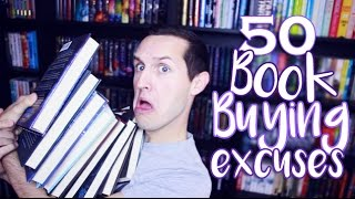 50 Book Buying Excuses!