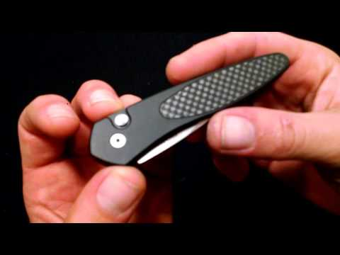 Probably the best California legal switchblade ever protech half breed