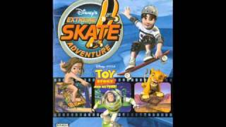 (OST) Disney Extreme Skate Adventure: Grits - Here We Go