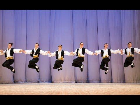 """Сюита греческих танцев """"Сиртаки"""". Балет Игоря Моисеева."""
