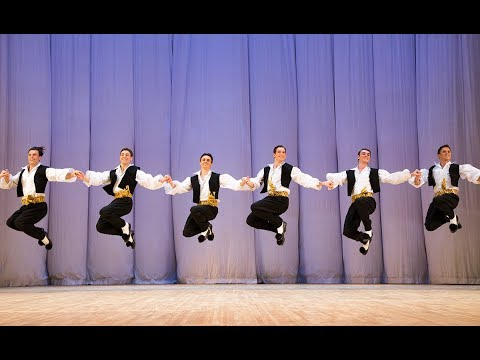 Igor Moiseyev Ballet. Suite Greek dance Sirtaki