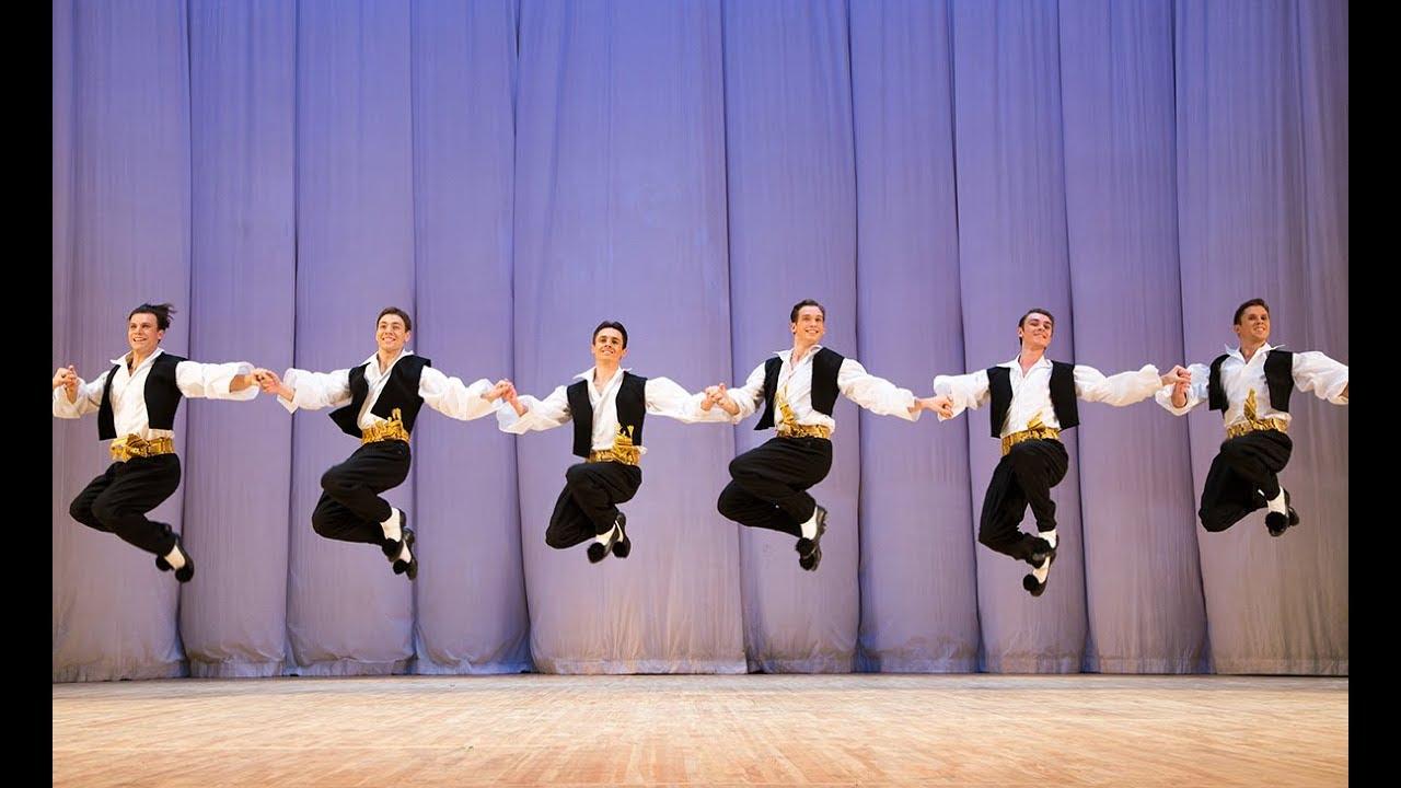 """Сюита греческих танцев """"Сиртаки"""". ГААНТ имени Игоря Моисеева."""
