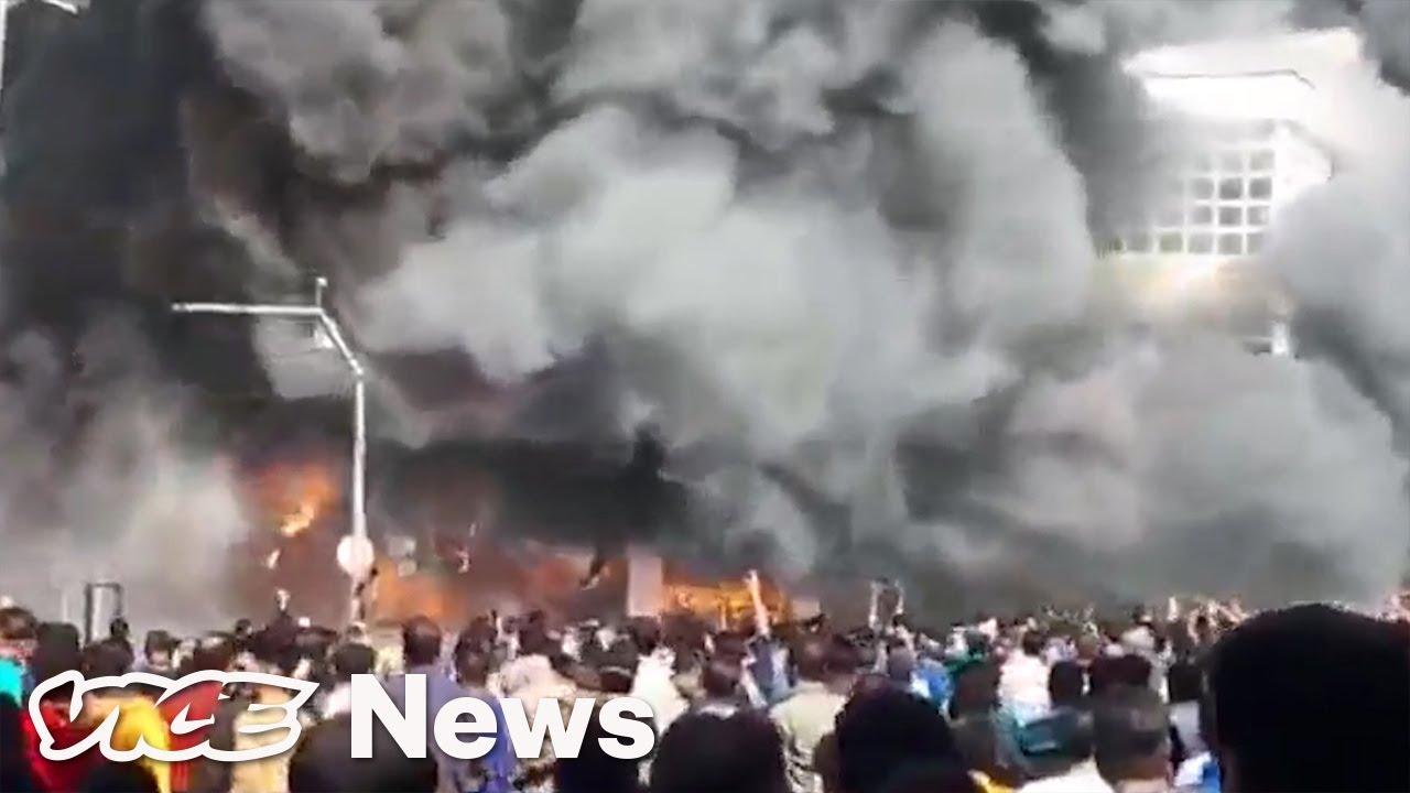 Leaked Videos Show Iran's Brutal Crackdown on Protests