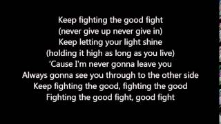 Good Fight - Unspoken